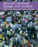 Research Methods, Design, and Analysis 11th Edition