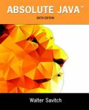 Absolute Java 6th Edition
