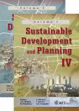Sustainable Development and Planning IV 9781845641818