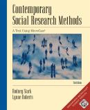 Contemporary Social Research Methods 3rd Edition