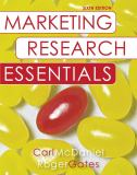 Marketing Research Essentials with SPSS 6th Edition