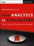 From Analysis to Evaluation 9780787982010