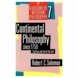 Continental Philosophy since 1750 9780192892027