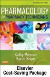 Pharmacology for Pharmacy Technicians - Text and Workbook Package 2nd Edition