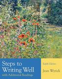 Steps to Writing Well with Additional Readings 8th Edition