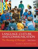 Language, Culture, and Communication 6th Edition