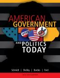 American Government and Politics Today 16th Edition