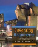 Inventing Arguments 4th Edition