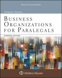 Business Organizations for Paralegals 7th Edition