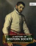 A History of Western Society, Volume 1 9781457642227