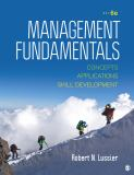 Management Fundamentals 6th Edition