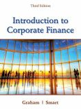 Introduction to Corporate Finance 3rd Edition