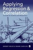 Applying Regression and Correlation