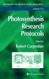 Photosynthesis Research Protocols 9781588292322