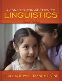 A Concise Introduction to Linguistics 9780205572380