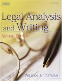 Legal Analysis and Writing 9780766862401