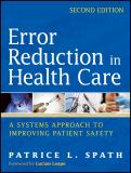Error Reduction in Health Care 2nd Edition