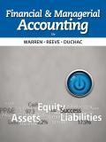 Financial and Managerial Accounting 12th Edition