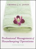 Professional Management of Housekeeping Operations 5th Edition