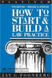 How to Start and Build a Law Practice 9781590312476