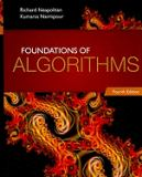 Foundations of Algorithms 4th Edition