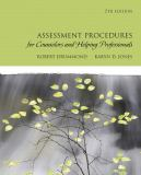 Assessment Procedures for Counselors and Helping Professionals 9780137152520