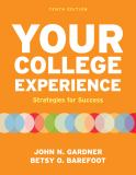 Your College Experience 9780312602543