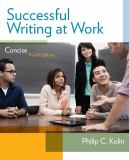 Successful Writing at Work 4th Edition