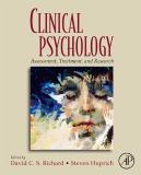 Clinical Psychology 9780123742568