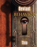 Deviant Behavior 9th Edition