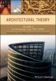 Architectural Theory 1st Edition