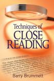 Techniques of Close Reading 1st Edition