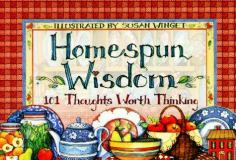 Homespun Wisdom 9781570512674