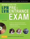 Review Guide for LPN/LVN Pre-Entrance Exam 3rd Edition