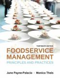 Foodservice Management 13th Edition