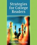 Strategies for College Readers 9780321202758
