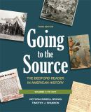 Going to the Source - To 1877 9780312652784