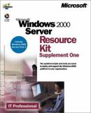 Microsoft Windows 2000 Server Resource Kit 9780735612792