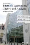 Financial Accounting Theory and Analysis 11th Edition