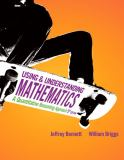 Using and Understanding Mathematics 5th Edition