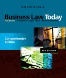 Business Law Today 9780538452809