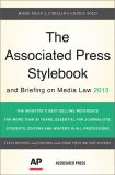 The Associated Press Stylebook 2013 46th Edition