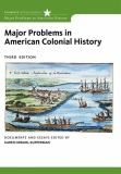Major Problems in American Colonial History 3rd Edition