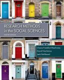 Research Methods for the Social Sciences 8th Edition