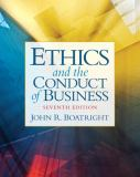 Ethics and the Conduct of Business 7th Edition