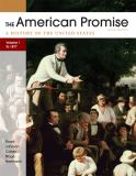 The American Promise, Volume I 5th Edition