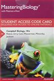 MasteringBiology with Pearson EText -- Standalone Access Card -- for Campbell Biology 10th Edition