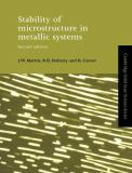 Stability of Microstructure in Metallic Systems 9780521423168