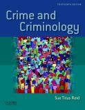 Crime and Criminology 13th Edition