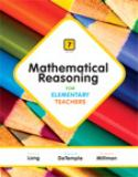 Mathematical Reasoning for Elementary Teachers Plus NEW MyMathLab with Pearson EText -- Access Card Package 7th Edition